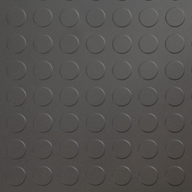 Dark Grey 6.5mm Coin Flex Tiles