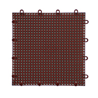 Brick Red Smooth Grip-Loc Tiles