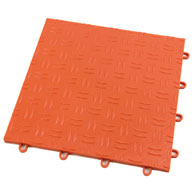 Harley Orange Diamond Grid-Loc Tiles™