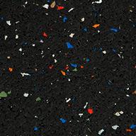 Confetti Eco-Lock Rubber Tiles