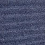 Ocean Blue Wide Ribbed Carpet Tile