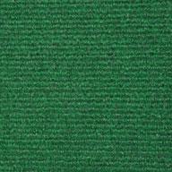 Leaf Green Wide Ribbed Carpet Tile