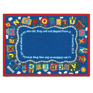 MultiJoy Carpets Bible Train Kids Rug