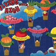 Multi Joy Carpets Fruits Of The Spirit Kids Rug