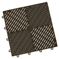 Choco Brown Vented Grid-Loc Tiles™