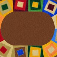 Neutrals Joy Carpets Off Balance Kids Rug