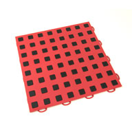 Red w/ Black Premium Tiles w/ Traction Squares