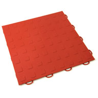 RedSolid Tiles w/ Raised Squares