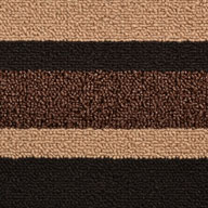 CafeStriped Door Mat