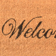 Welcome Cocoa Welcome Mat