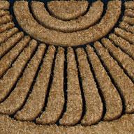 Crescent Cocoa Crescent Mat