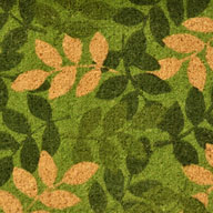 Green Leaf Green Leaf Coir Doormat