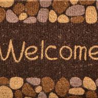 River Rocks River Rocks Coir Doormat