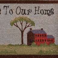 Welcome To Our Home Welcome To Our Home Coir Doormat