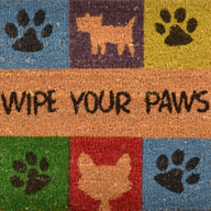 Wipe Your Paws Wipe Your Paws Coir Doormat