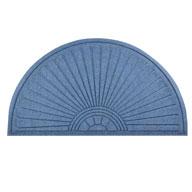 Slate Blue Guzzler Sunburst Door Mat