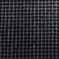 Black Rubber Bristle - Remnants