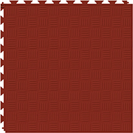 Brick Red 6.5mm Diamond Flex Tiles