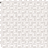 White 6.5mm Diamond Flex Tiles