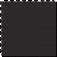 Black 6.5mm Coin Flex Tiles - Designer Series