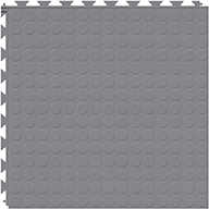 Light Gray 6.5mm Coin Flex Tiles - Designer Series