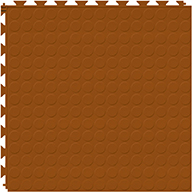 Terracotta 6.5mm Coin Flex Tiles - Designer Series