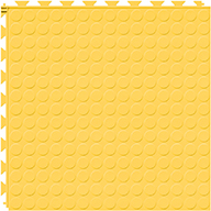 Yellow 6.5mm Coin Flex Tiles - Designer Series