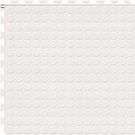 White 6.5mm Coin Flex Tiles - Designer Series