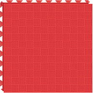 Red 6.5mm Diamond Flex Tiles