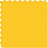 Bright Yellow 6.5mm Diamond Flex Tiles