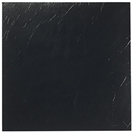 Black Solid Peel & Stick Tile
