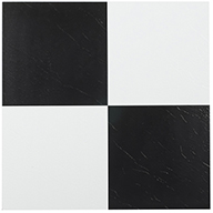 Black Amp White Self Adhesive Vinyl Tile Low Cost Flooring