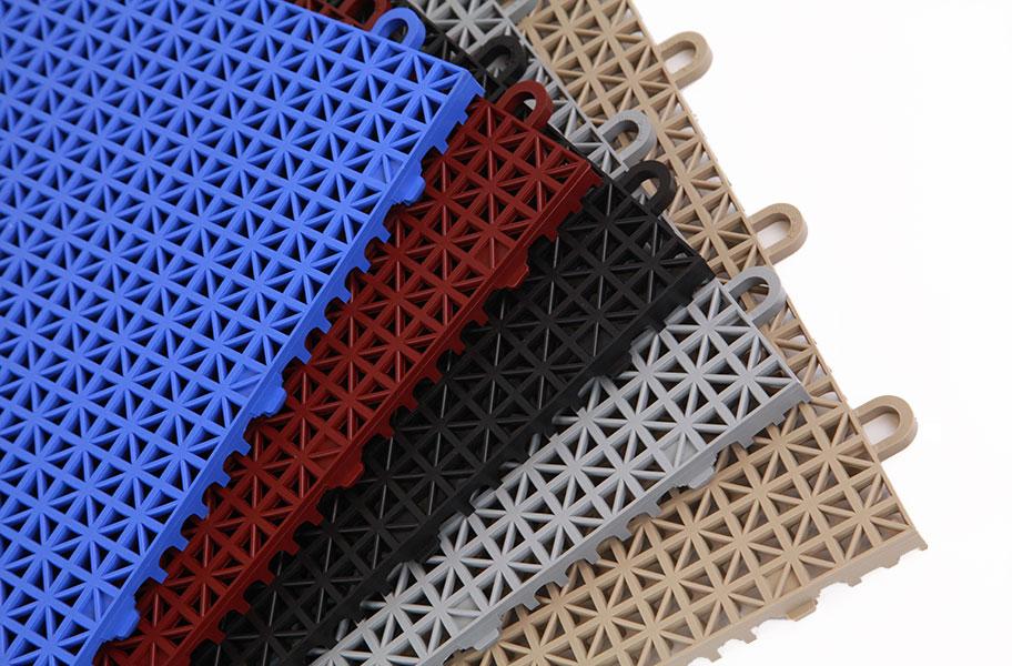 Designer Grip Loc Tiles Plastic Shower Floor
