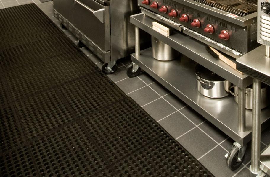 Commercial kitchen rubber floor mats wood floors - Professional kitchen floor mats ...