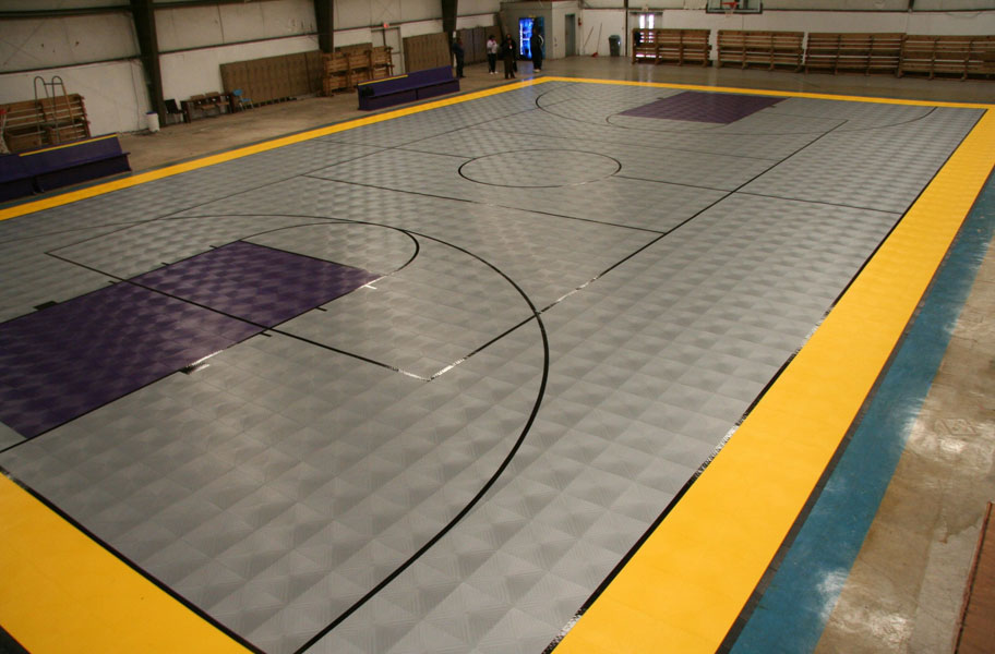 Indoor Sports Tiles XL Durable Indoor Gym Floor Tiles
