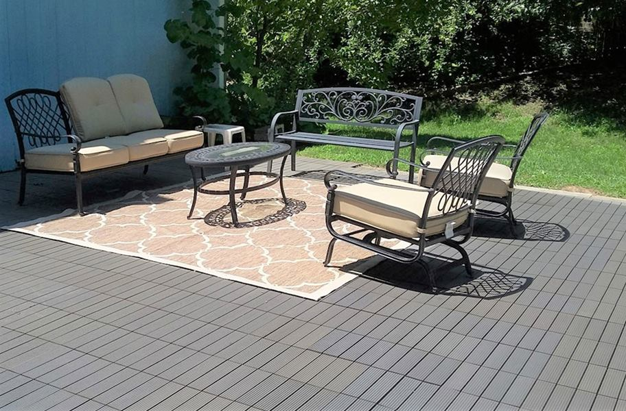 Century Outdoor Living Deck Tiles Eco Friendly Composite