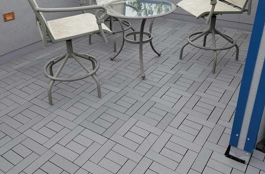 Naturesort Deck Tiles (6 Slat) - Weather Resistant