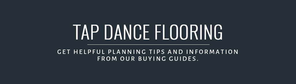 how to build a tap dance floor