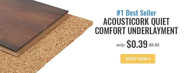 Cork Underlayment L Flooring Underlayment