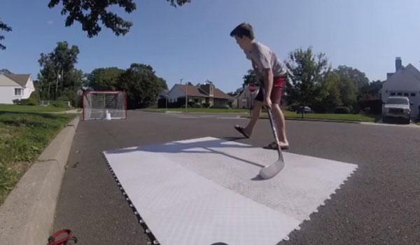 Hotshot Hockey Floor Tiles Discount Inline Hockey Floor