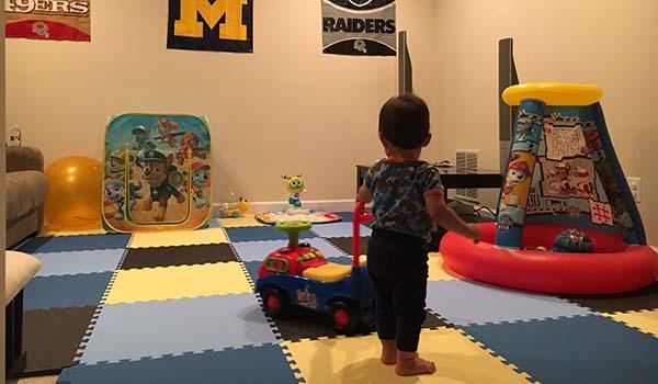 Rubber Flooring New Kid Safe Rubber Flooring
