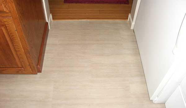 Usfloors coretec plus tiles travertine vinyl plank tiles for Coretec wood flooring