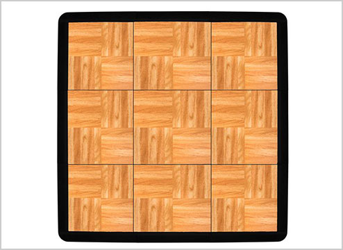 DANCE FLOOR TILES: FOR PORTABLE DANCE FLOORS & MORE