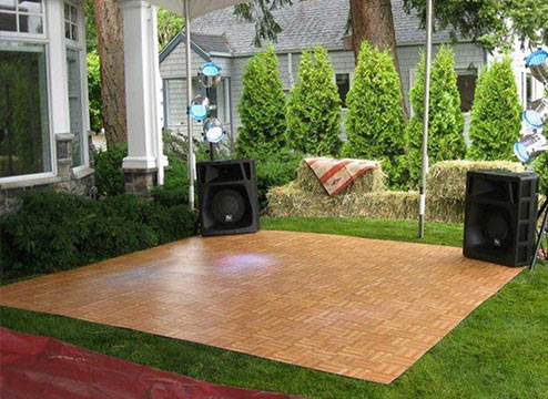 The Best Portable Dance Floor for Weddings & Events