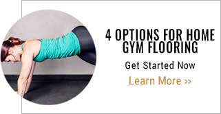 4 options for home gym flooring