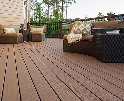 Composite Decking Outdoor Flooring From Rubberflooringinc