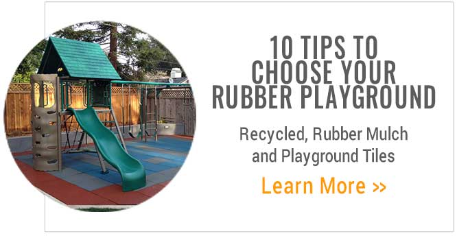 Tip to choose rubber playground