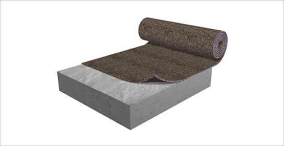 5mm Custom Cut Rubber Underlay Acoustical Flooring
