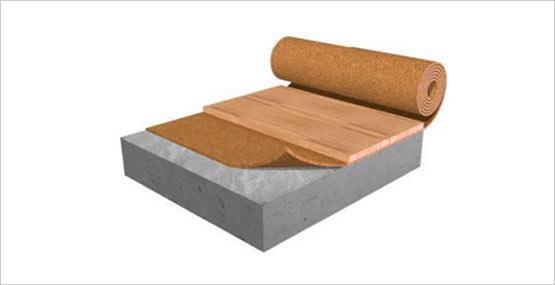Acousticork Quiet Comfort Cork Underlayment W Vapor Barrier
