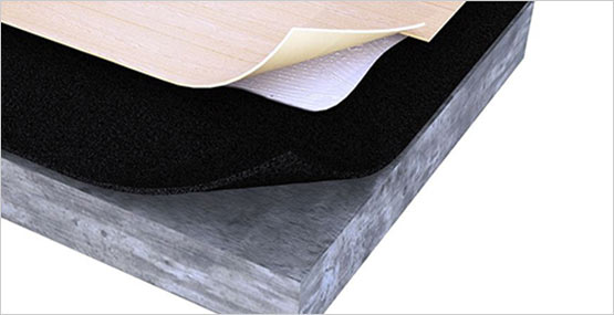 Ez Floor Foam Underlayment High Quality 2 In 1 Lvt Lvp